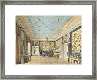 The Chinese Room In The Royal Palace, Berlin Framed Print