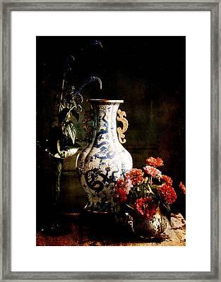 The Chinese Vase Framed Print by Sarah Vernon