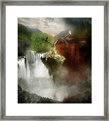 The Choice Framed Print by Mary Hood