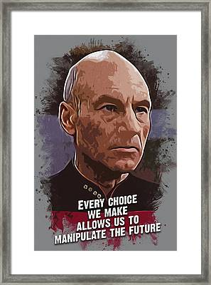 The Choice - Picard Framed Print
