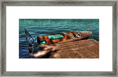The Chris Craft Continental - 1958 Framed Print