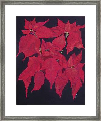 The Christmas Gift Framed Print by Diane Frick