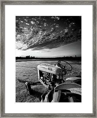 The Chronicles Of Jessie Sue - Home Soil Framed Print by Phil Koch