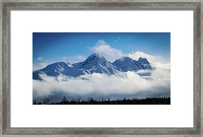 The Chugachs Framed Print