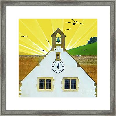 Framed Print featuring the photograph The Church Bell by LemonArt Photography
