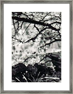Framed Print featuring the photograph The Church by Juls Adams
