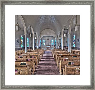 The Church Of St. Augustine Framed Print by Andy Crawford