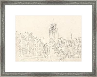 The Church Of St. Lawrence Framed Print by David Cox