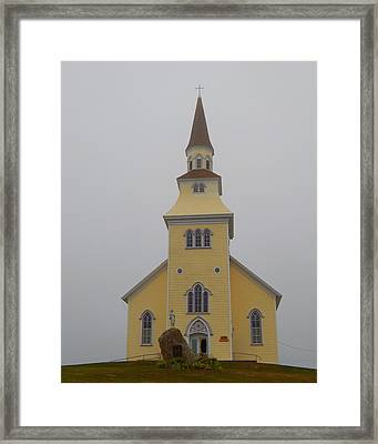 The Church Of The Sacred Heart  Framed Print by Karen Cook