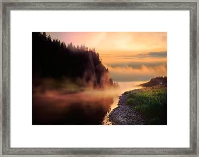 The Chusovaya River Framed Print