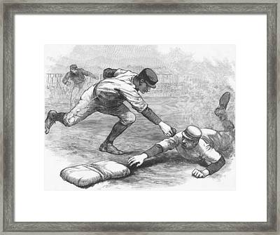The Cincinnati Red Stockings Framed Print