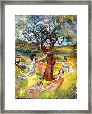 the Cinnamon Tree Framed Print