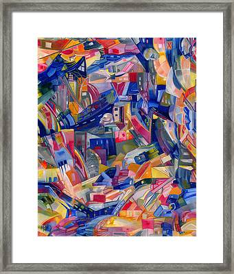 The Circle Game Framed Print by Chase Medved