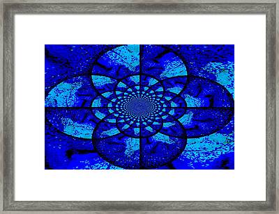The Circles Of Life Framed Print by Kathy Bucari