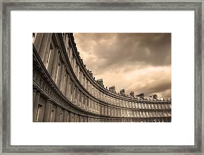The Circus Bath England  Framed Print