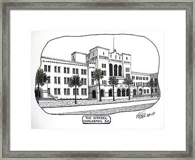 The Citadel Framed Print by Frederic Kohli