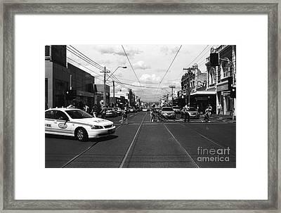 The City 01 Framed Print