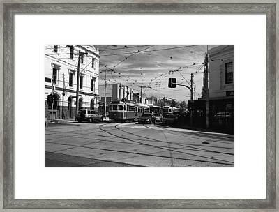 The City 02 Framed Print