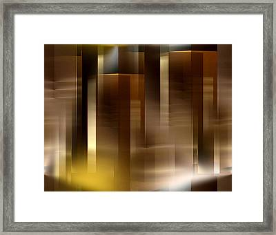 The City At Night 2 Framed Print