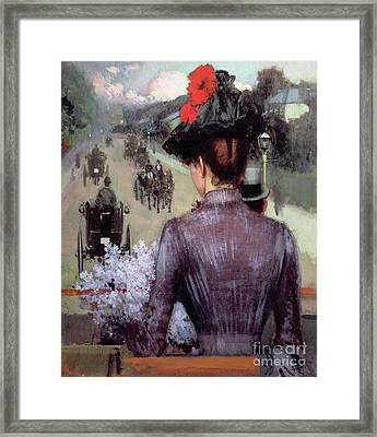 The City Atlas Framed Print by Sidney Starr