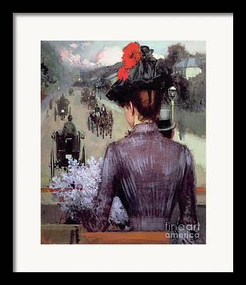 Hansom Cab Framed Prints