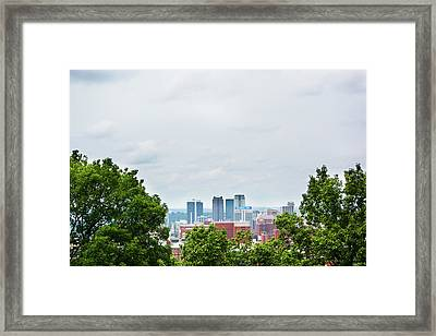 Framed Print featuring the photograph The City Beyond by Shelby Young