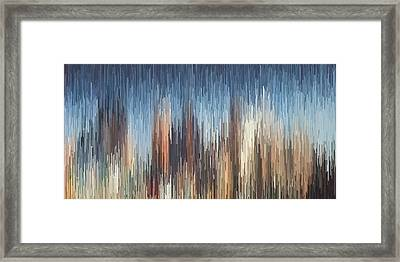 The Cities Framed Print
