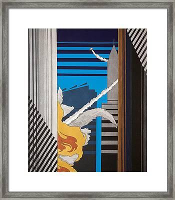 The City Is No Longer Safe Framed Print by Benjamin Winans