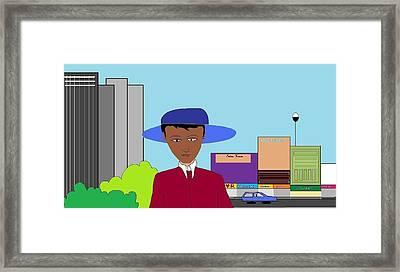 The City Framed Print by Kiran B