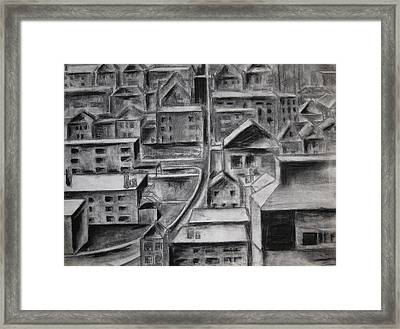 The City Framed Print by Molly Williams