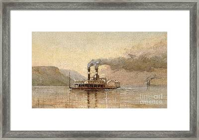 The City Of Saint Paul, Dubuque Framed Print