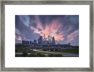 The City Rises Framed Print