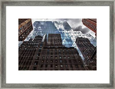 The City Framed Print by Robert Ullmann