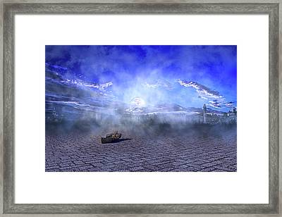 The City Sleeps To Hide Framed Print by Betsy Knapp