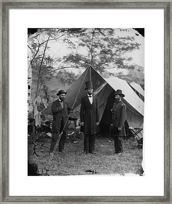 The Civil War, Antietam, Md. Allan Framed Print