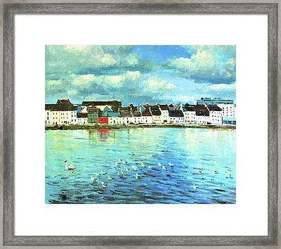 The Claddagh Galway Framed Print by Conor McGuire