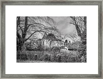 Framed Print featuring the photograph The Claremont by Jeremy Lavender Photography