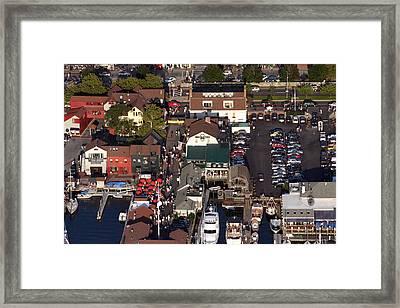 The Clarke Cook House Restaurant P.o. Box 249 Bannisters Wharf Newport Ri 02840 Framed Print