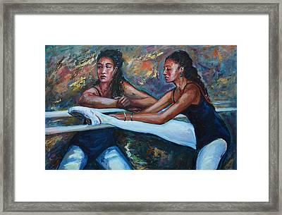 The Class Framed Print by Rick Nederlof