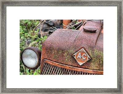 The Classic Allis Framed Print by JC Findley