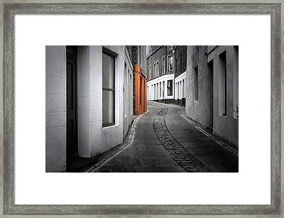 The Clear Target Framed Print