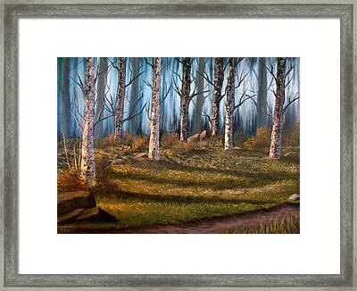 The Clearing Framed Print by Sheri Keith
