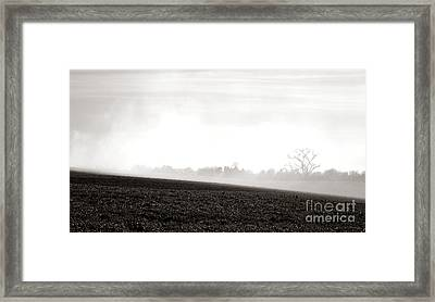The Clearing Smoke Framed Print by Olivier Le Queinec