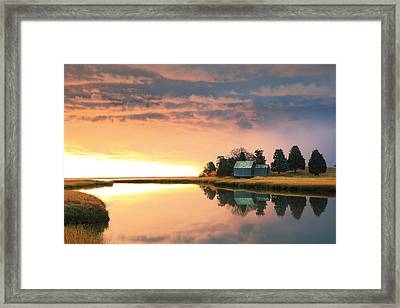 The Clearing Storm, Eastham, Cape Cod Framed Print by Roupen  Baker