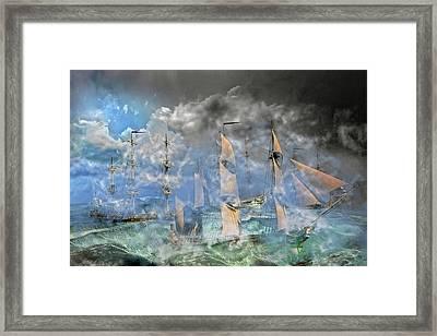 The Cleggan Bay Storm 1927 Framed Print by Betsy Knapp