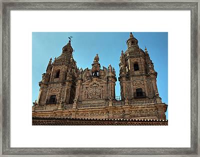 The Clerecia Church In Salamanca Framed Print by Farol Tomson