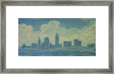 The Cleveland Blues Framed Print by James Violett II