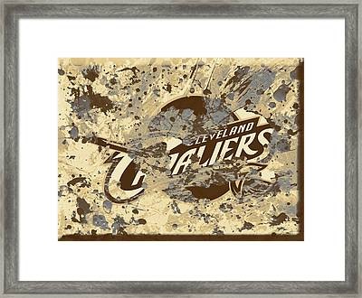 The Cleveland Cavaliers 1b Framed Print