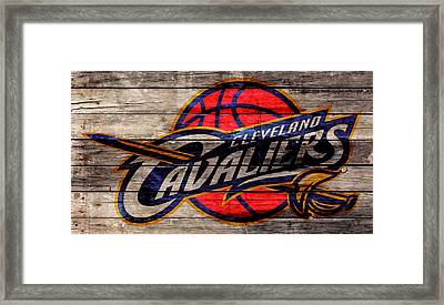 The Cleveland Cavaliers 2w Framed Print by Brian Reaves