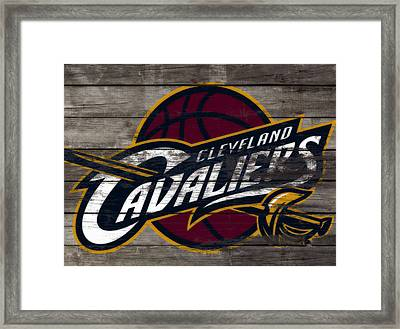 The Cleveland Cavaliers 3f      Framed Print